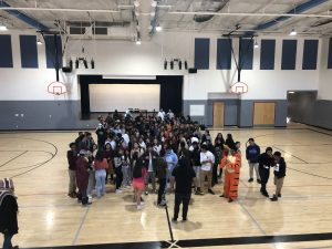 Class of 2022 Begins High School With Some Advisory Fun