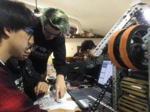 NP3 Robotics Teams Approach Finalist Rounds