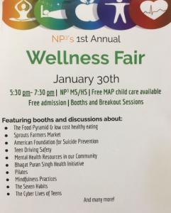 NP3's First Wellness Fair Just Around the Corner