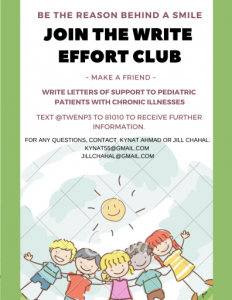 The Write Effort Club Makes Friends With Pediatric Patients Through Letters