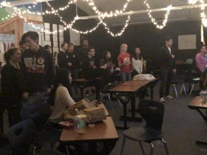 Singing in the Storm: Karaoke Night at NP3 High