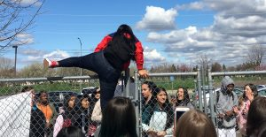 NP3 Students Stage Walkout for Stephon Clark