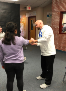Expert Gives Self-Defense Demo at NP3