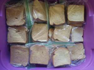 Key Club Provides PB&Js for Local Homeless Population