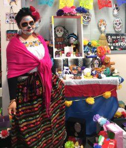 Latino Unidos Club Celebrates Dia de los Muertos