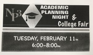 Academic Planning Night & College Fair Planned